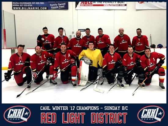 CAHL Champs - NTPRD Chiller - B/C